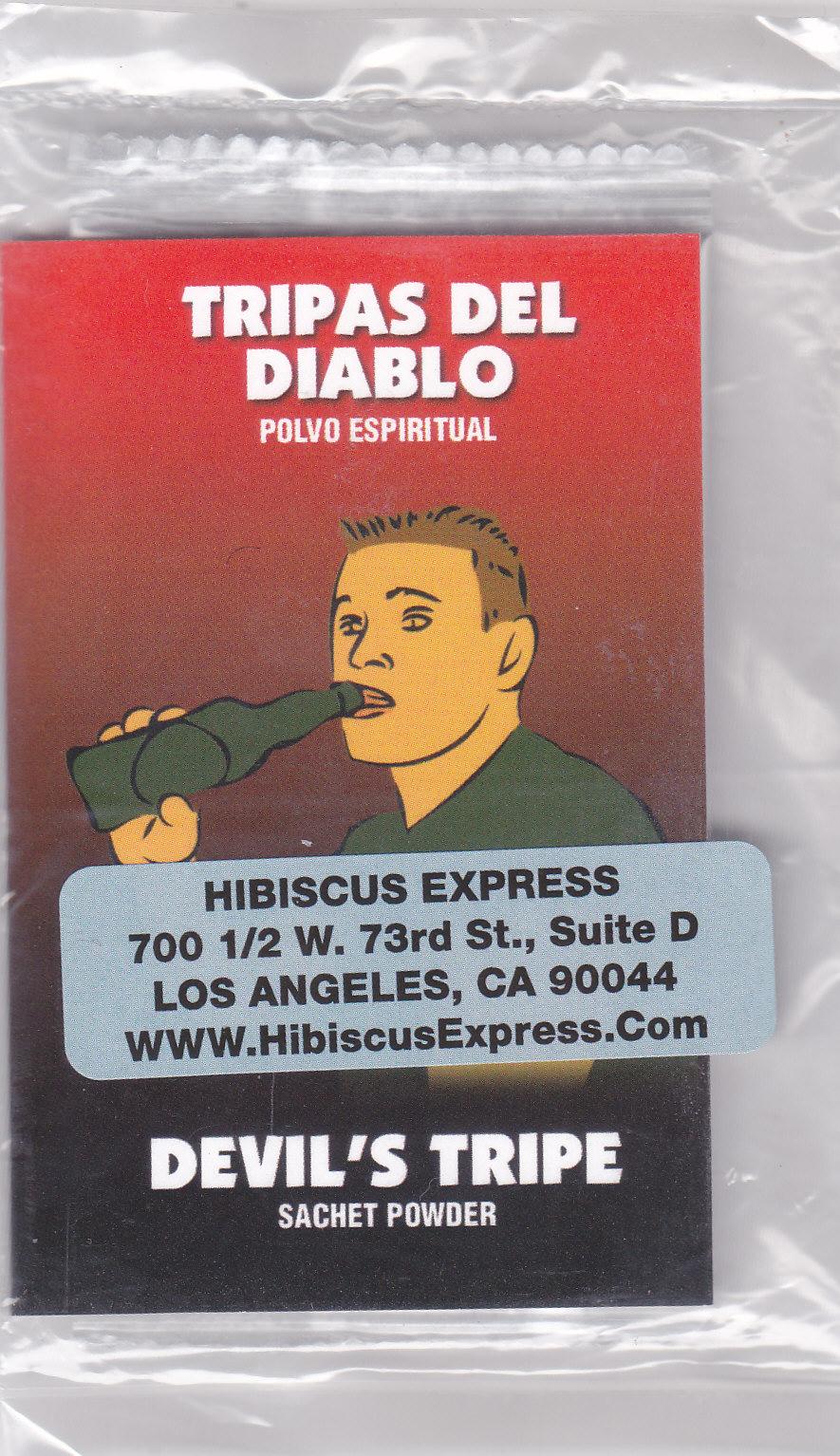 Buy Tripas del Diablo POLVO - Legítimo Polvo Tripas del Diablo at http://www.HibiscusExpress.Com